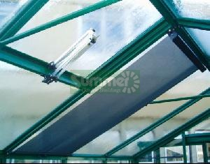 Greenhouse blinds internal